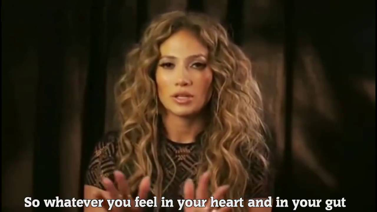 Jennifer Lopez - Only You Know What You Can Do